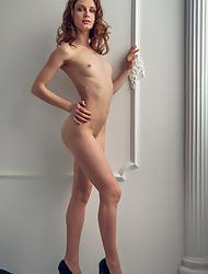 Mesmerizing naughty Elvira U Clarice teasing with her perfect body
