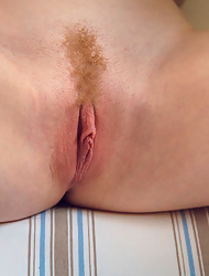 Redhead erotic girl Jia Lissa showcasing her tight pink pussy